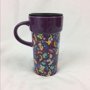 Alice in wonderland Tall Travel Mug Disney Store